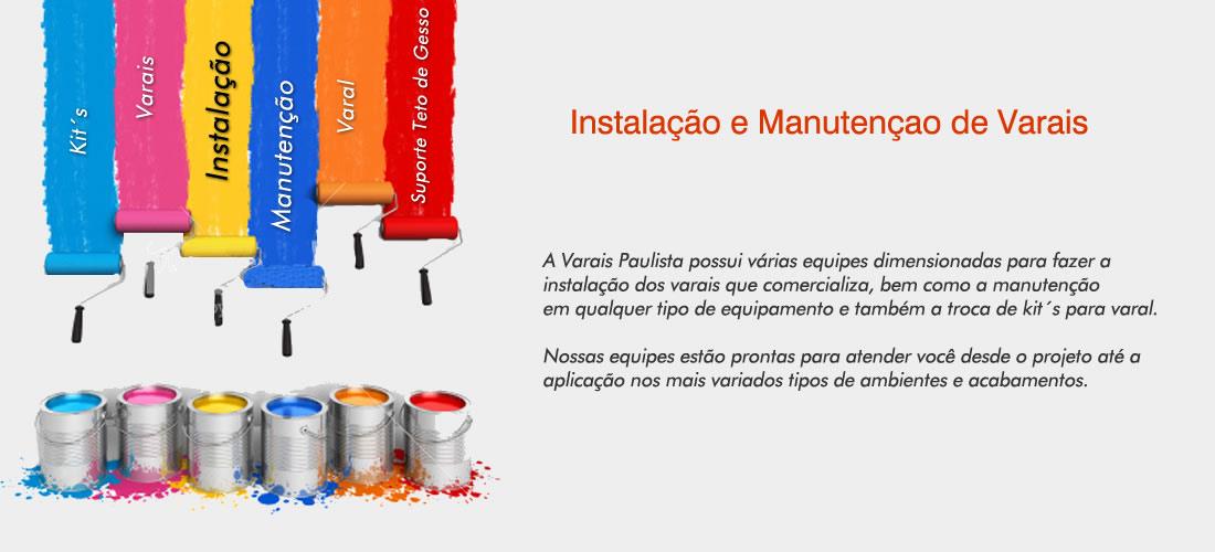 Instalação de varais, fale com a Varais Paulista