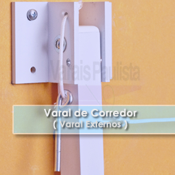 Varal Externo | Varal de Corredor – Varais Paulista