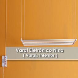 Varais internos | Varal Eletrônico Nina-Varais Paulista