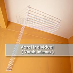 Varais internos | Varal Individual – Varais Paulista