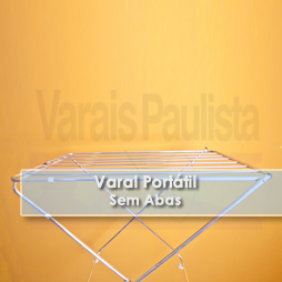 Varais Portáteis | Varal Portátil sem Abas – Varais Paulista