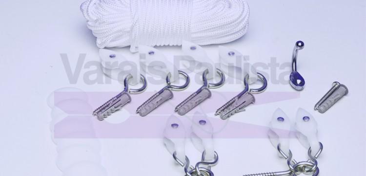 acessorios kit varais varaispaulista | Acessórios de Varais da varaispaulista