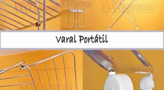 Varal Portatil para apartamento