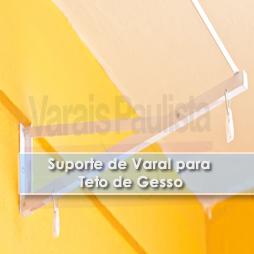 Acessórios – Suporte de varais para teto de Gesso – Varais Paulista