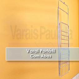Varais Portáteis | Varal Portátil Com Abas – Varais Paulista